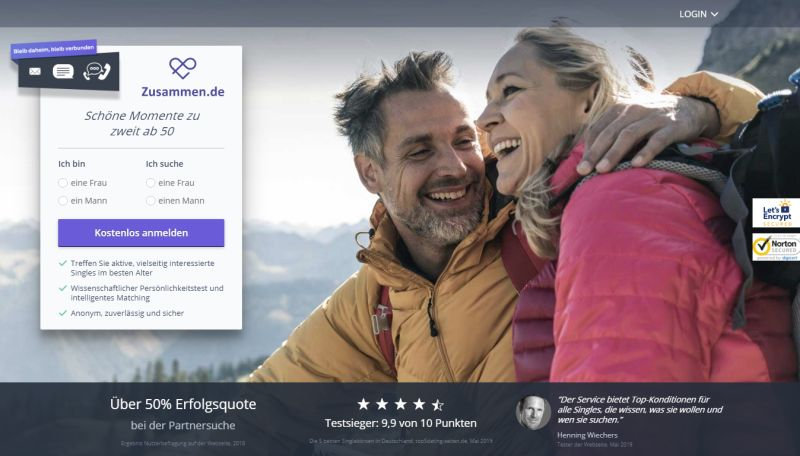 Dating-sites für 40+ kanada